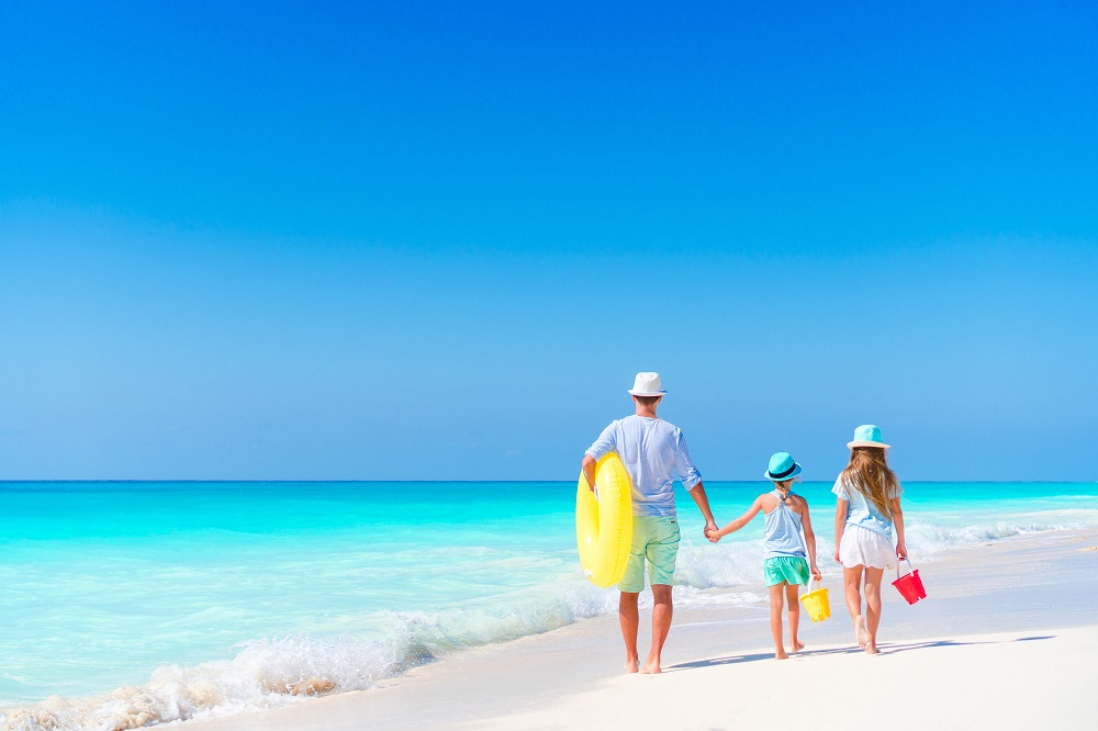 vacances plage américaine