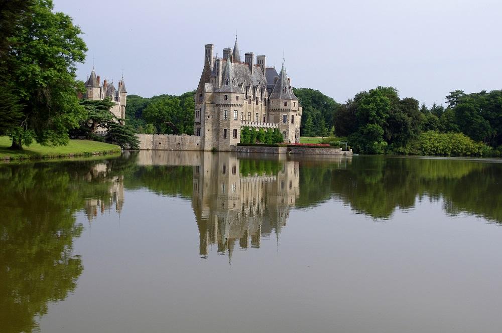 chateau époque moyen age