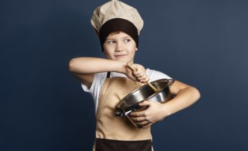 5 conseils pour devenir un véritable petit chef cuisinier