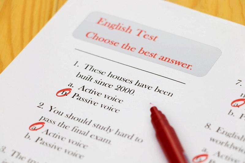 Examen anglais